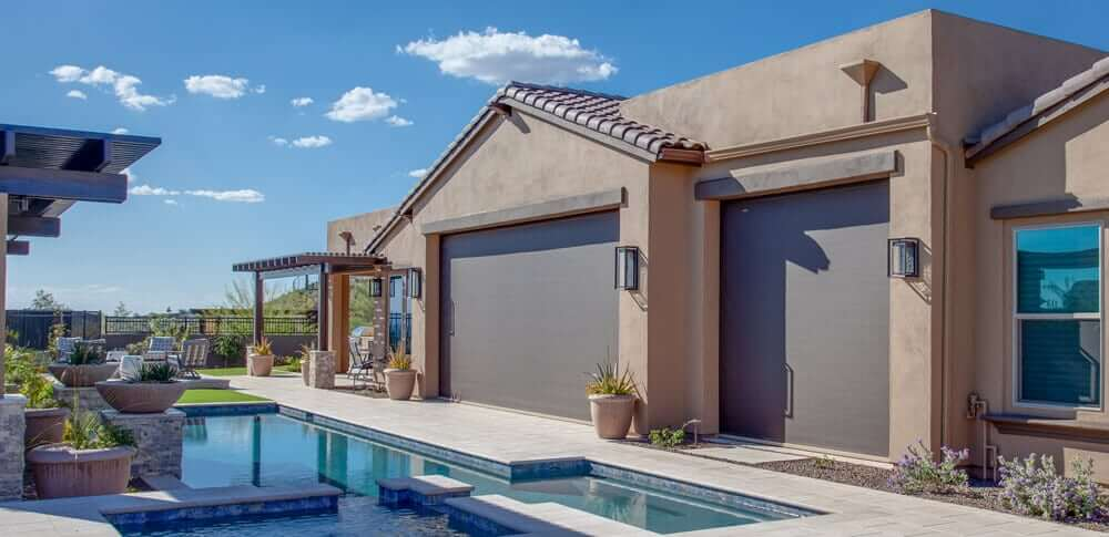arizona home with sun screens