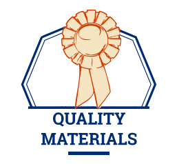 quality materials icon